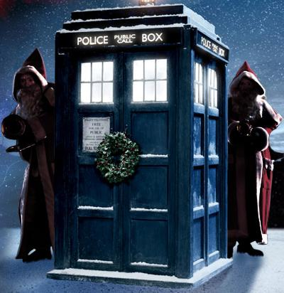 Dr Who in christmas mood