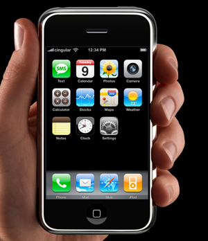 Iphone téléphone maison xD