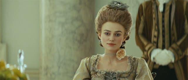Keira Knightley avec une superbe coiffure