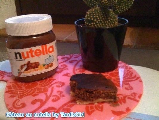Gateau au Nutella