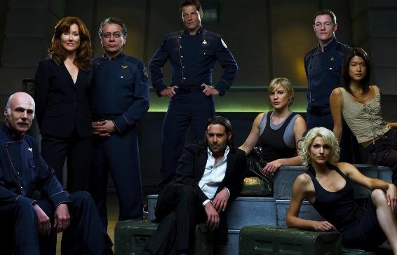 La team Battlestar Galactica