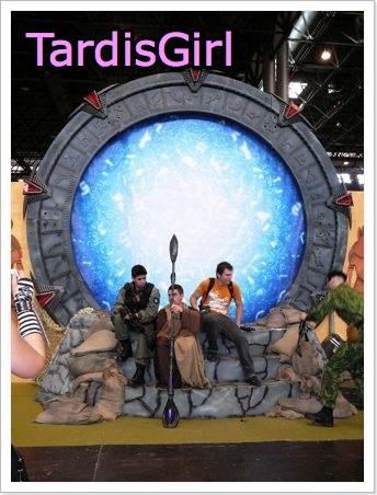 La porte des Etoiles de Stargate à la Comic Con 2009