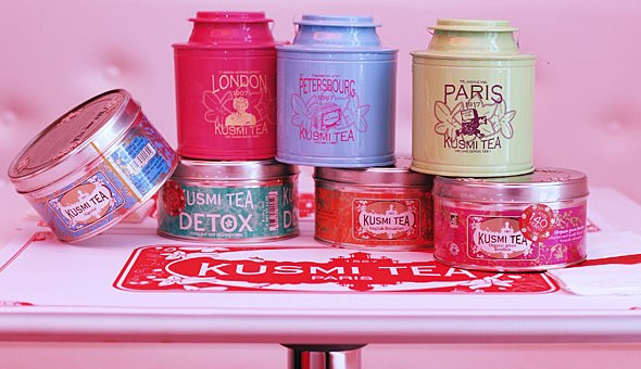 Kusmi, le thé pour ceux qui n'aiment pas le thé