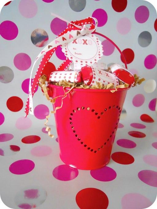 Des étiquettes pour la St Valentin