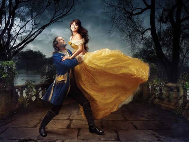 Penelope Cruz & Jeff Bridges dans La Belle & la Bête