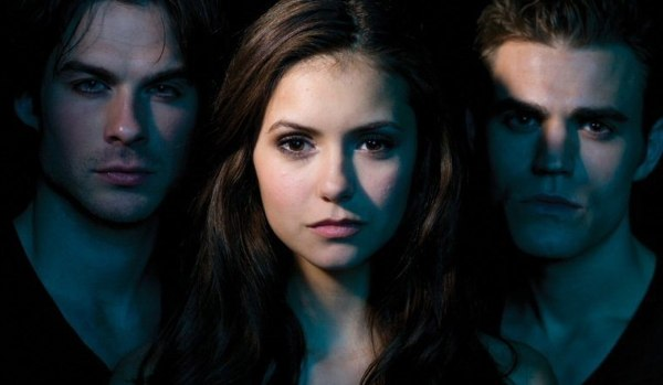 Le triangle amoureux de Vampire Diaries
