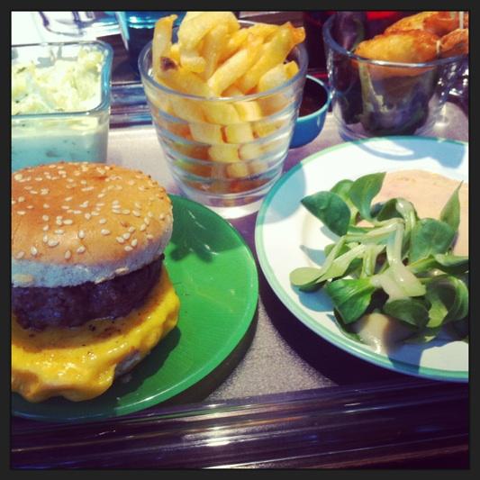 Burger Little Goergette