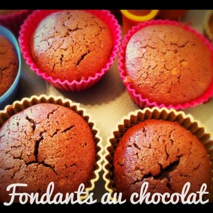 fondant chocolat faciles