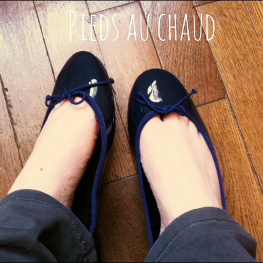Ballerines bleues Bobbies