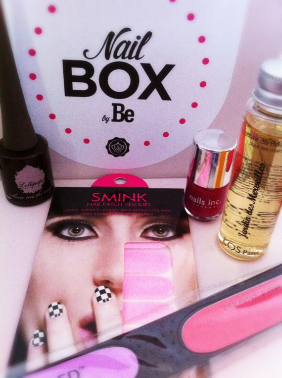 nail box glossybox be
