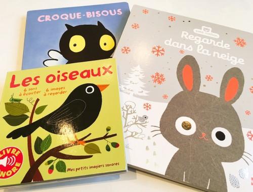 Des livres top pour les bébés